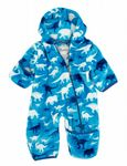 Hatley Fleece Bundler- Silhouette Dinos PB0DINO384  Available Sizes 6-12/12-18 months